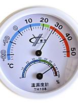 Th108 Thermometer Temperature Bimetallic Thermometer Hygrometer Indoor Temperature Hygrometer Electronic Temperature