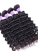7A Brazilian Virgin Hair Deep Wave 4 Bundles Unprocessed Brazilian Deep Wave From Protea Hair
