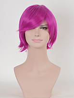 Rose Color Curly Women Fashion European and American Cosplay Synthetic Wigs
