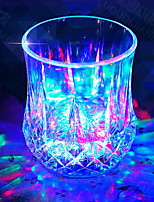 7 Colour Iinduction Light Cup LED Cup Rich Creative Light Color Changing Cup New Strange Birthday Gift  Valentine