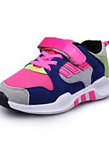 Unisex-Sneaker-Lässig-PU-Flacher Absatz-Komfort-Schwarz / Blau / Rot