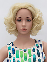 Fashion Short Wig Blonde Color Synthetic African American Women Wigs