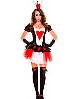 Costumes More Costumes Halloween Red Solid Terylene Dress / More Accessories