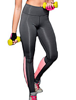 Women's Elastic Quick Dry Tights High Waist Compression Long Sports Pants Fitness Running Leggings