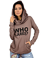 AliExpress EBAY Amazon Hot WHO hoodie letters printed long-sleeved loose, casual T-shirt