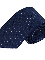 Men Formal Business Necktie Tie Polyester Silk
