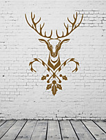 AYA DIY Wall Stickers Wall Decals The Christmas Festival Deer Style PVC Stickers 42*62cm