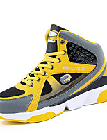 Unisex Athletic Shoes Comfort Tulle Microfibre Outdoor Athletic Black Yellow Red