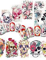 Nail Art наклейки ногтей Nail Art Design Макияж наклейки Вода Передача Переводные картинки