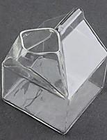 Practical Half Pint Creamer Milk Carton Glass Cup Coffee Water Bar Unique Design