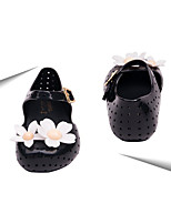 Girl's Flats Spring / Summer / Fall Flats PVC Casual Flat Heel Others Black / Pink / Silver Others