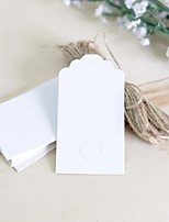 The wedding gift love card Rustic Theme Stickers Labels & Tags-100 Piece/Set Labels / Tags  White / Pink / Brown