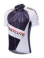 Deportes® Maillot de Ciclismo Hombres Mangas cortas Transpirable / Secado rápido / Reductor del Sudor Bicicleta Camiseta/Maillot Coolmax