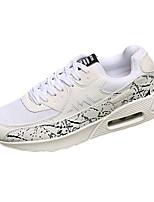 Unisex-Sneaker-Lässig-Stoff-Flacher Absatz-Komfort-Schwarz / Rot / Weiß