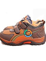 Garçon-Décontracté-Marron-Talon Plat-Bout Arrondi-Chaussures d'Athlétisme-Synthétique
