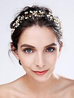 Damen Künstliche Perle / Acryl Kopfschmuck-Hochzeit / Besondere Anlässe Blumen 1 Stück Elfenbein