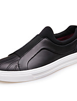 Men's Flats  Comfort / Round Toe / Closed Toe  Casual Flat Heel Others Black / Brown Walking