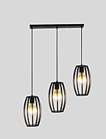 E26/E27 Pendant Light   Traditional/Classic for Designers MetalLiving Room / Bedroom / Dining Room / Kitchen / Study