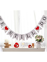 Anniversary Party Decorations We Still Do Banner Hanging Sign Photo Props Vow Renewal