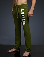 LOVEBANANA® Masculino Activo Calças Verde-34092