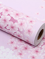 0.45*10M Contemporary And Contracted  Waterproof Renovation To Floral Wall Paper Adhesive From The Wallpaper