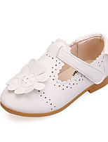 Sneakers Spring Fall Comfort Light Up Shoes Leatherette Dress Low Heel Magic Tape Pink White Peach Walking