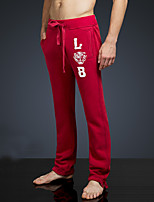 LOVEBANANA Men's Active Pants Red-34069