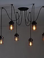 Max 60W מנורות תלויות ,  מסורתי/ קלאסי / רטרו צביעה מאפיין for מעצבים מתכתחדר שינה / חדר אוכל / מטבח / חדר עבודה / משרד / חדר ילדים / חדר