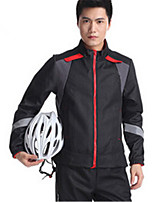 Sports Cycling Jacket with Pants Men's Long Sleeve Bike Thermal / Warm / Windproof / Comfortable Clothing Sets/Suits Fleece Classic Winter