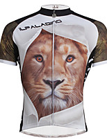 PALADIN® Cycling Jersey Men's Short SleeveBreathable / Quick Dry / Ultraviolet Resistant / Compression / Lightweight Materials /