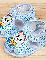 Unisex Sandals Summer Sandals / Open Toe Cotton Casual Flat Heel Others Blue / Pink / Khaki Others