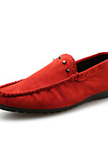 Men's Flats Spring / Summer / Fall / Winter Flats Office & Career / Casual Flat Heel Lace-up