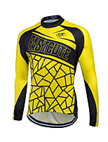 Sports® Cycling Jersey Women's / Men's / Unisex Long SleeveBreathable / Quick Dry / Front Zipper / Reflective Strips / Sweat-wicking /