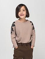 Girl's Casual/Daily Print Blouse / Hoodie & SweatshirtCotton All Seasons / Spring / Fall Gray