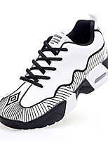 Running Shoes / Casual Shoes Men's Anti-Slip / Wearproof / Air Mattresses/Air Shoes Low-Top Leisure SportsWhite /