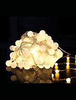 20 dirigé par prise étanche en plein air vacances décoration de Noël lumière 2.5m led string (220v)