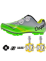 Cycling Shoes Unisex Outdoor / Mountain Bike Sneakers Damping / Cushioning Yellow / Green / Gray-sidebike
