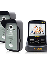 KiVOS KDB300 Wireless Doorbell Household Plug Electric Bell Video Intercom Camera Lock