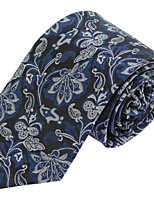Men Polyester Silk Formal Business Casual Necktie Tie