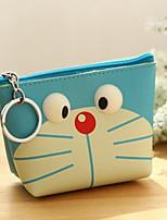 Japan Leather Mini Purse Cute Cartoon Bag Student Bag Creative Headset