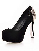 Women's Heels Spring / Summer / Fall / Winter Heels / Basic Pump / Comfort  /ToeSyntheticMaterialsUpperOccasion