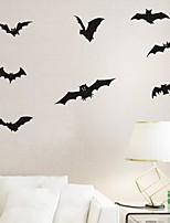 AYA DIY Wall Stickers Wall Decals Halloween Decoration Bats Type PVC Panel Wall Stickers  54*63cm