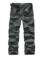 Men's Camouflage Casual / Sport Sweatpants,Cotton Black / Green / Orange / Gray