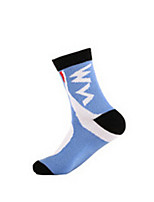 Sports Bike/Cycling Socks Unisex Sleeveless Breathable / Comfortable Cotton Classic Yellow / White / Blue Free