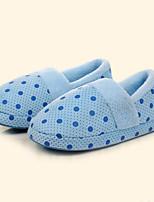 Women's Slippers & Flip-Flops Winter Comfort Fleece Casual Flat Heel Others Blue / Pink / Purple Others