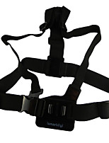ismartdigi IG-CS1 Chest Body Strap Gopro Hero 2 3 3+ 4 Session SJ4000, with 3-way Adjustment Base