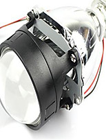 IPHCAR Direct Bifocal Lens Super Visteon Naked Through Mini Lens HID Lights