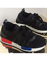 Per bambino-Sneakers-Tempo libero / Sportivo-Chiusa-Piatto-Poliestere-Nero / Verde / Rosso