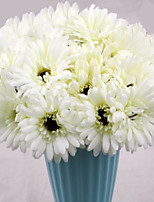 1PC Household Artificial Flowers Sitting Room Adornment  Flowers  Polyester  Chrysanthemum Artificial Flowers
