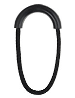 FURA Multi-Use Cotton Cord PVC Elastic Cord Zipper Pullers - Black